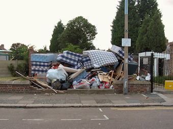Fly Tipping Clearance company Essex